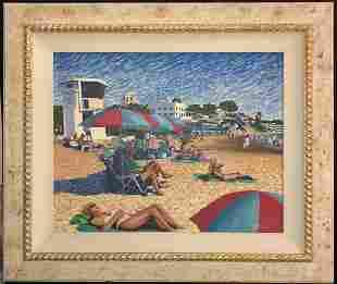 Roberta Sayers Original Oil on Canvas Signed 1997