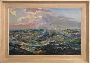 Catharina Van Buren Original Oil on Canvas