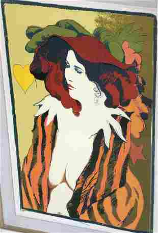 Unknown Hand-Pulled Lithograph Limited Edition Signed
