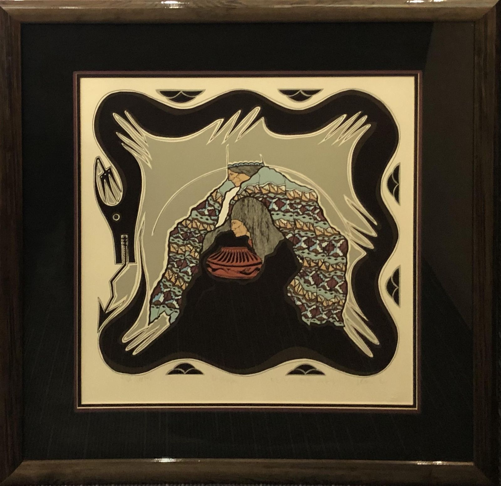 Amado Pena (Unknown) Signed Lithograph