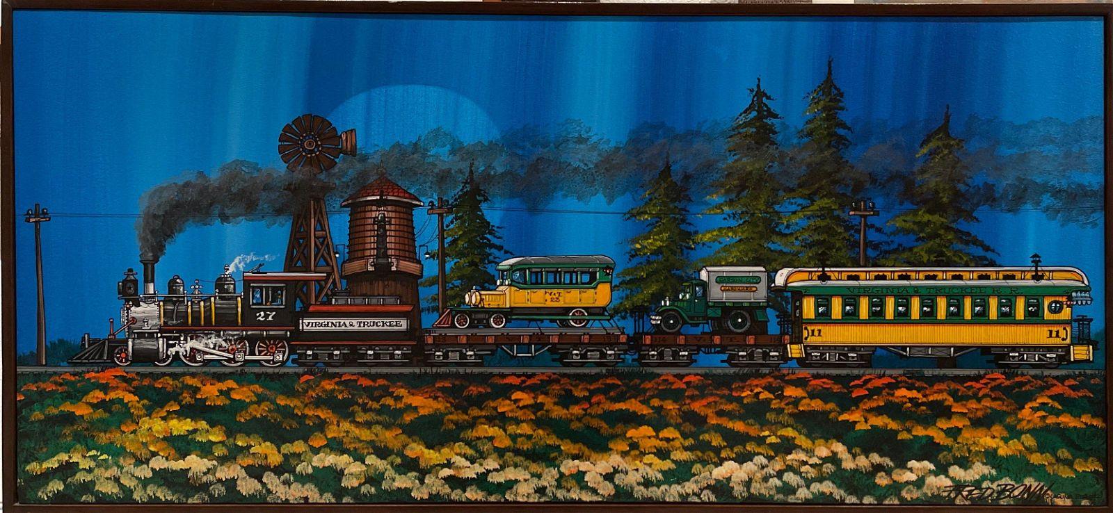 Fred Bonn (Virginia & Truckee Train) Signed Original