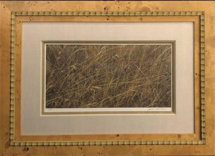 "Robert Bateman ""Eyes In The Grass"" Signed Lithograph"