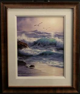 """Sharon Rickert """"Out of the Mist"""" Lithograph"""