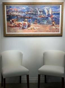 Jorn Fox Newport Landmark Impressionist Giclee