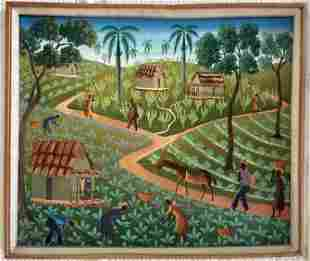 Haitian Artwork by Roland Hector