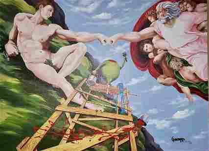 Knuckles (Michelangelo) by Michael Godard
