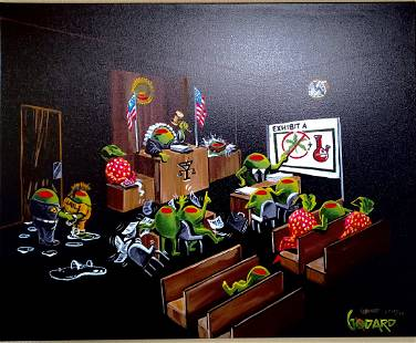 Justice by Michael Godard