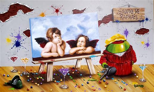 Raphael by Michael Godard