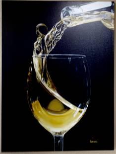 Wine Angel by Michael Godard