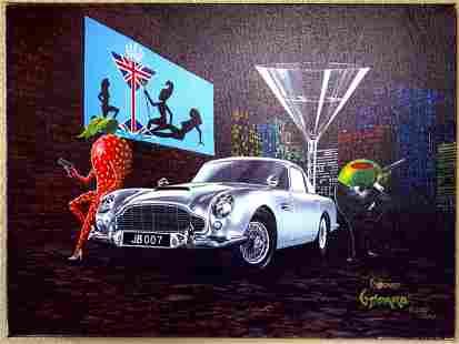 James Bond by Michael Godard