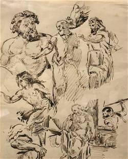 Eugene Delacroix Original