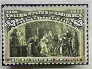 Columbus Describing Third Voyage 3 Dollars by Steve