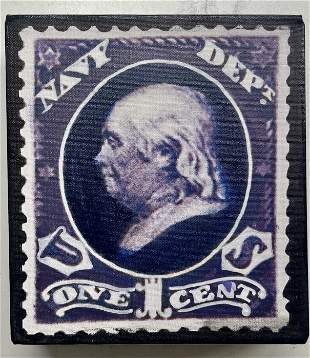 Navy Dept 1 Cent by Steve Kaufman KAW