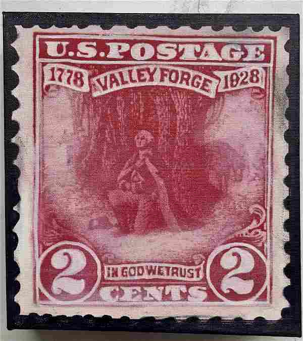 Valley Forge 2 Cents by Steve Kaufman KAW