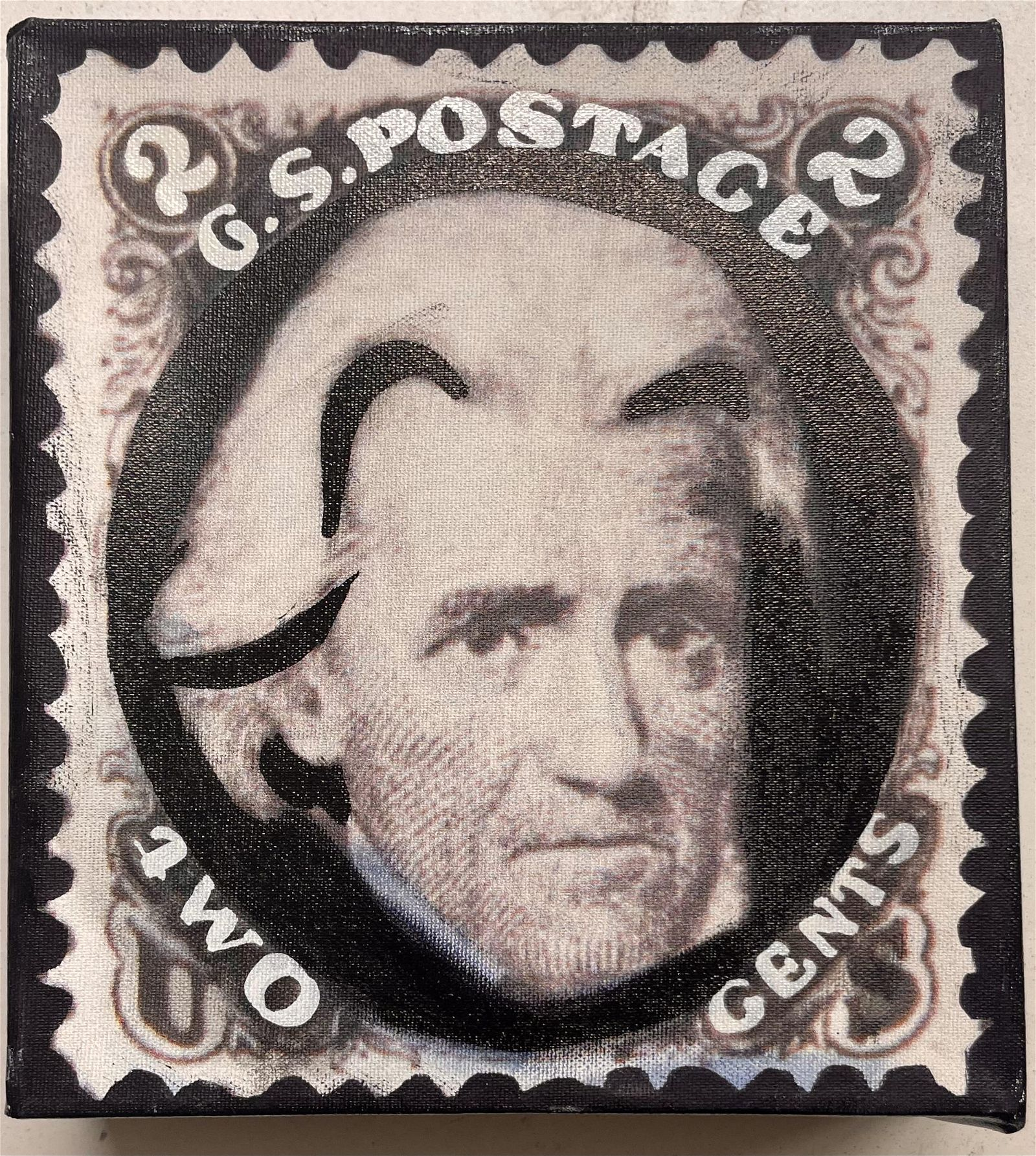 GS Postage 2 Cents by Steve Kaufman KAW