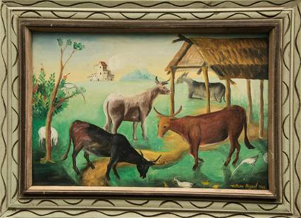 Cattle by Wilson Bigaud