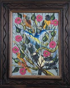 Haitian Painting by W. Abellard