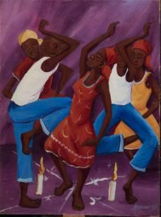 Haitian Painting by Bernard Wah