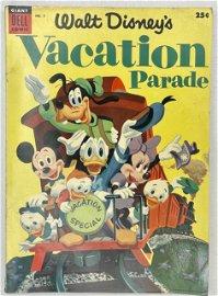 Walt Disney's Vacation Parade Issue 5