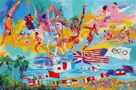 American Gold by Leroy Neiman