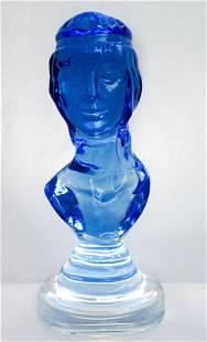 Juliette, Hazziza Sculpture Smoked Blue