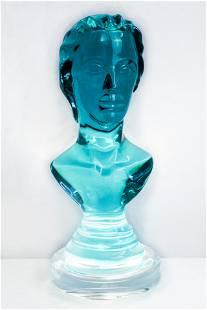 Romeo, Hazziza Sculpture Smoked Teal