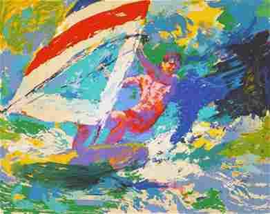 Windsurfer by Leroy Neiman