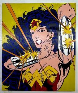 Wonder Woman by Steve Kaufman