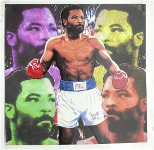 Aaron Pryor Boxing by Bobby Womack