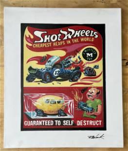 Shot Wheels by Bobby Womack