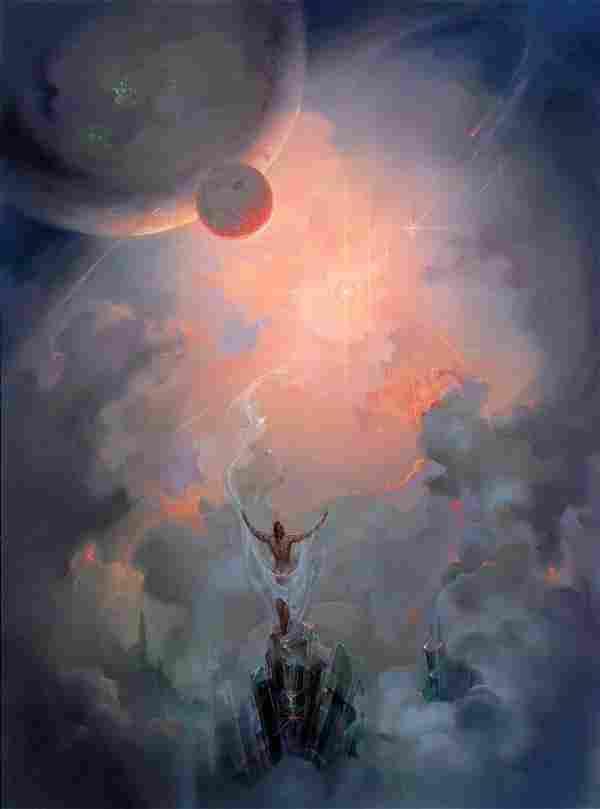 Contemplation of the Universe,John Pietre
