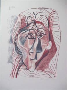 Visage de Femme de Face by Picasso