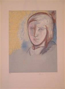 Portrait of Marie Therese Walter By Picasso