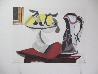 Nature Morte Gueridon By Pablo Picasso