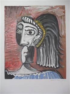 Tete de Femme 2 By Pablo Picasso