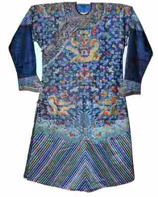 An Embroidered Dragon Robe