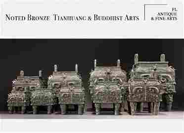 Noted Bronze, Tianhuang & Buddhist Arts