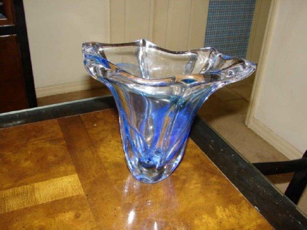 3: Art Glass Vase,  signed.