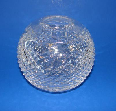 17: Waterford Clear Crystal Rose Bowl.