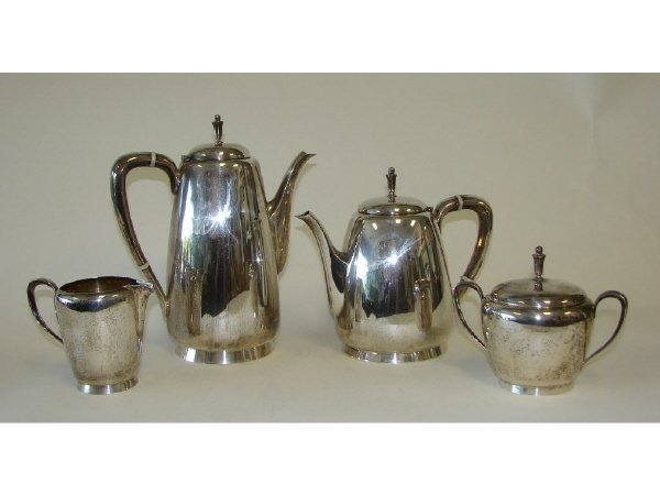 23: Reed & Barton Sterling Silver 4 Pc. Coffee Service
