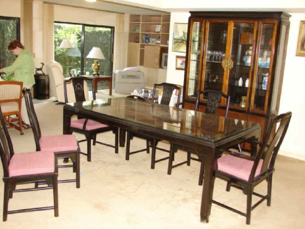 52: Oriental Style Dining Table,  Century Furniture Co - 3