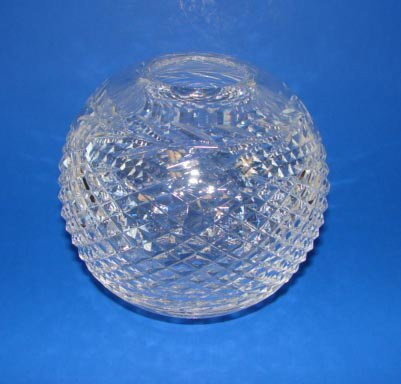 4: Waterford Clear Crystal Rose Bowl.