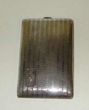 6: American Sterling Silver Cigarette Box.