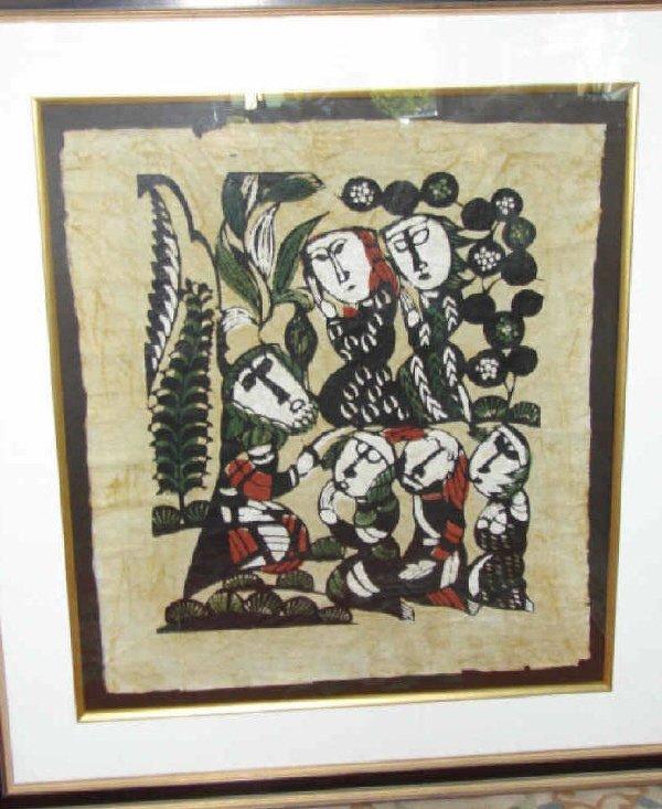 58: Sadao Watanabe Color Wooblock, Biblical.