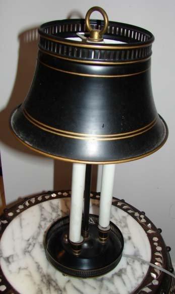 14: Empire Style Boulliotte Table Lamp.