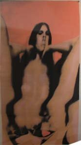 19: Larry Bell Limited Edition Print, Female Figure.