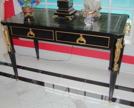 24: Empire Style Table Desk by Maslow Freen.