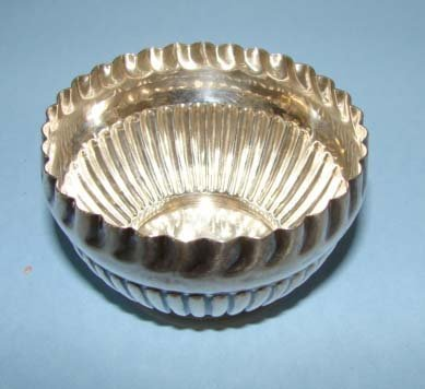 209: English sterling silver bowl.  3 troy oz.