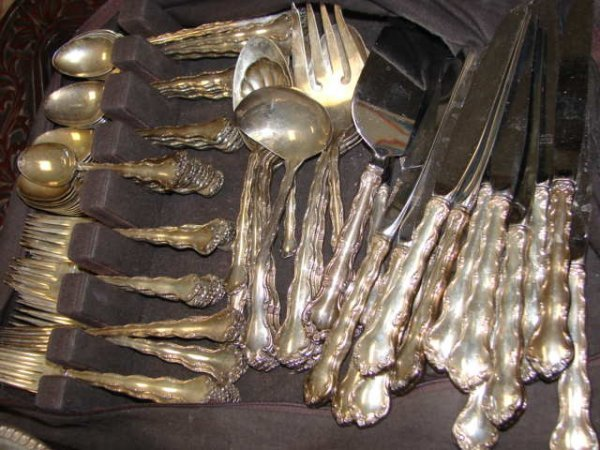 "21: Reed & Barton Sterling Flatware, ""Tara"" 119 pcs."