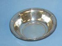 25: Small P.S. Silver Co. Sterling Bon Bon Bowl.